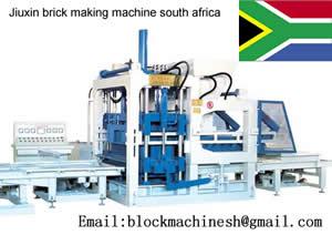 Brick Making Machine South Africa Comsuming Automatically Saving