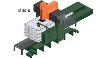 Bridge Type Heavy Duty Cnc Edm M3018