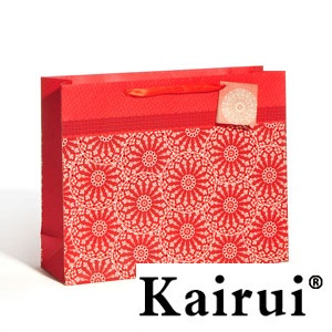 Bright Red Party Gift Bag Full Of Joy Kr298 3