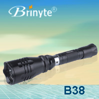 Brinyte Cree Led Waterproof Military Police Flashlight