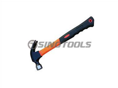 British Type Claw Hammer With Colour Plastic Coating