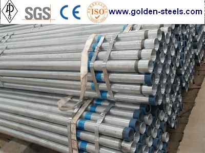 Bs1387 Astm A53 Hot Dipped Galvanized Steel Pipe