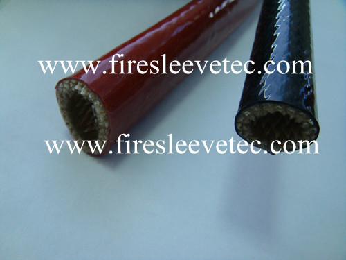 Bst Silicone Coated Fiberglass Fire Protection Sleeve