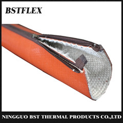 Bstflex Silicone Fiberglass Fire Sleeve With Zipper