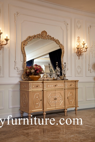 Buffet Sideboards Wall Cabinet Decoration Table With Mirror Classic Ah 303