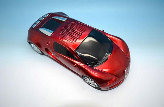 Bugatti Car Mini Speaker