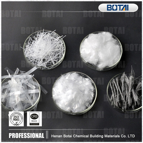 Building Cocnrete Crack Resistance Waterproof Good Dispersion No Facicles Toughness Polypropylene Fi