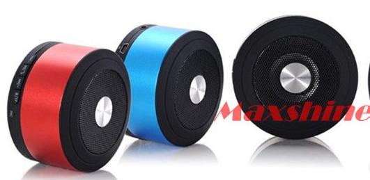 Buletooth Speaker With Fm Radio Card Speakers Car Bluetooth Recorder Computer Small Maxshine Technol