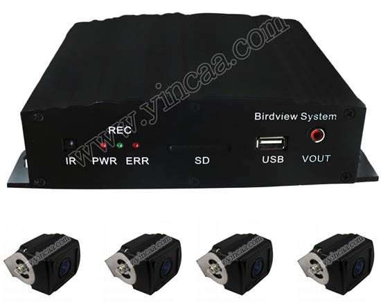 Bus Vehicle 360 Bird View Dvr System