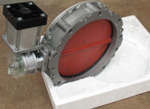 Butterfly Valve For Dust Proof