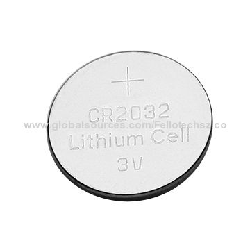 Button Cell Lithium Battery Cr2032 In High Capacity Lmno2 Coin Hearing Aid