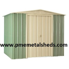 Buy 8 X 10 Ft Outdoor Steel Sheds Apex Metal From Pmemetalshes