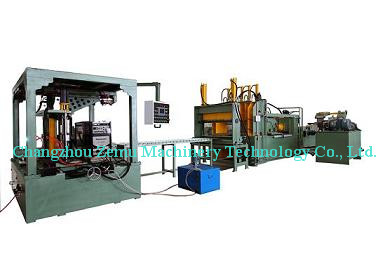 Bw1300a Corrugated Wall Production Machine