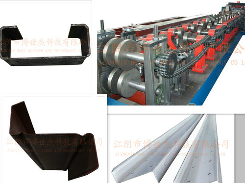 C Z Purlin Exchange Roll Forming Machine