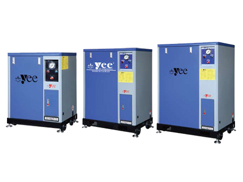 Cabinet Type Air Compressor Single Stage Low Pressure