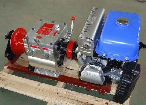 Cable Puller Bollard Winch