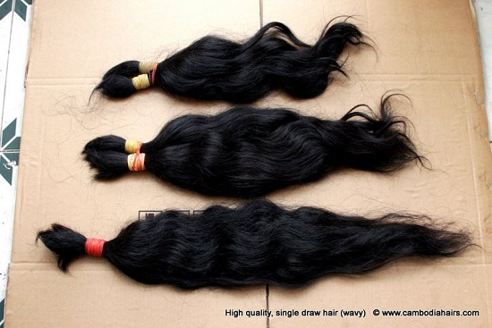 Cambodian Remy Single Hair 40cm