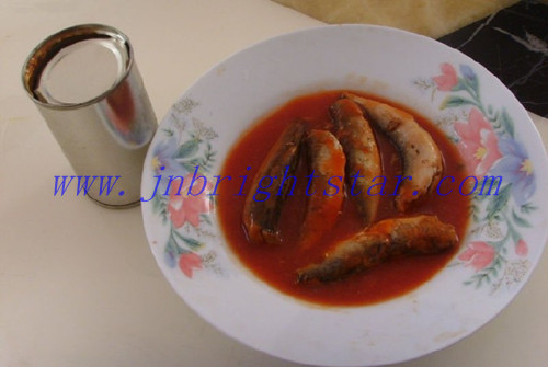 Canned Fish In Tomato Sauce