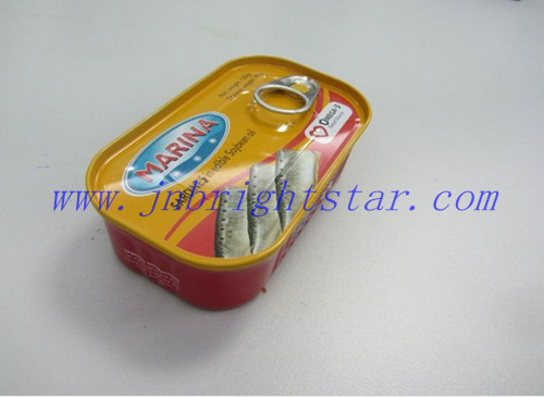 Canned Fish In Vegetable Oil