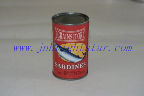 Canned Sardine In Natural Oil