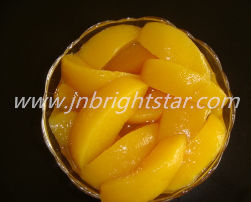 Canned Yellow Peach In 425g