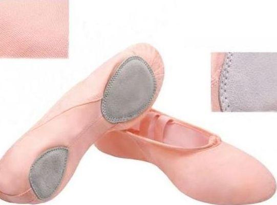 Canvas Split Sole Ballet Shoes