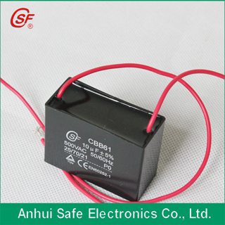 Capacitor Cbb61 For Fan Use