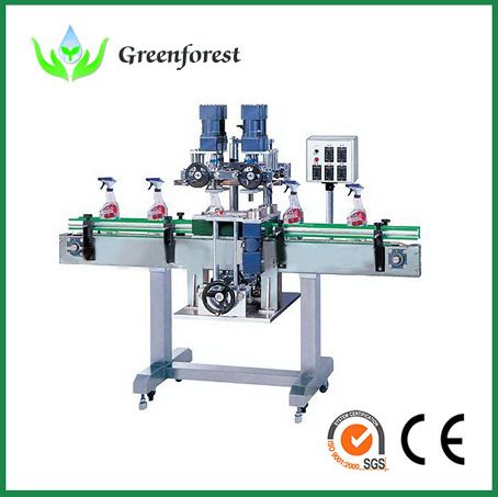 Capping Machine For All Kinds Of Bottle Shapes