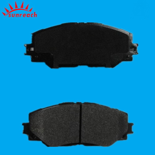 Car Brake Pad D1210 Semi Metallic