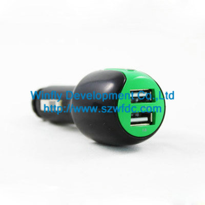 Car Charger With Dual Ports China Manufacturer