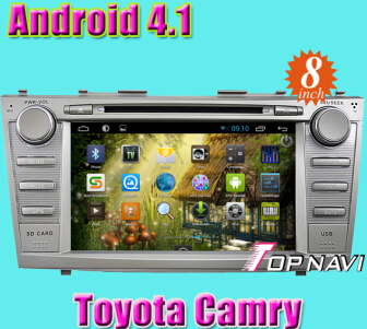 Car Dvd Gps Special For Toyota Camry With Android 4 1 Version A9 Dual Core 1ghz Cpu Processor And Dd