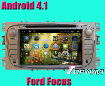 Car Dvd Player For Ford Focus With Android 4 1 Version A9 Dual Core 1ghz Cpu Processor And Ddr3 1g R