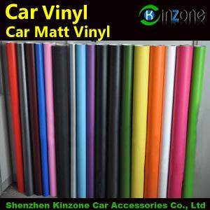 Car Matt Film Color Foil With Air Channel Sticker
