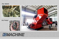 Car Shell Can Crusher Equipment Crushing Machine