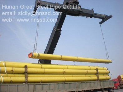 Carbon Steel Pipe Seamless Lsaw Ssaw Erw