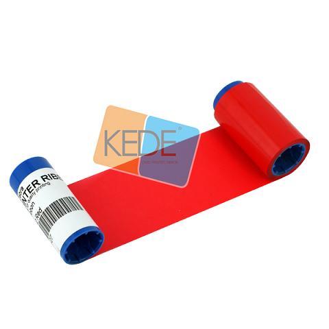 Card Printer Ribbon Zebra 800015 102 Red