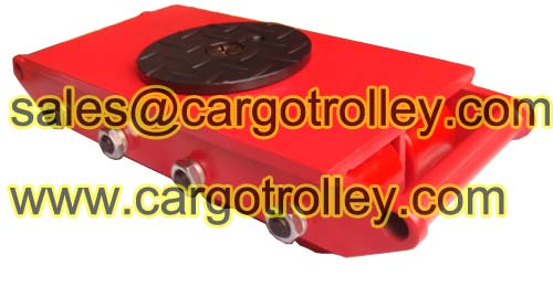 Cargo Pallet Trolley For Factory Warehouse