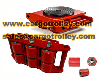 Cargo Trolley Also Called Moving Roller Skids