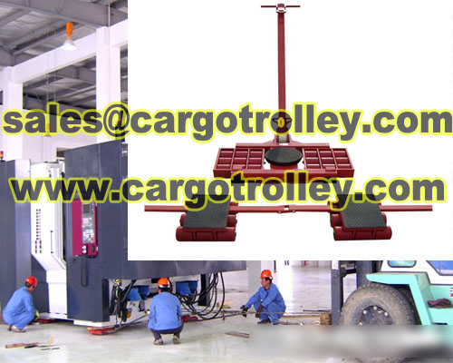 Cargo Trolley Also Known As Moving Roller Skates