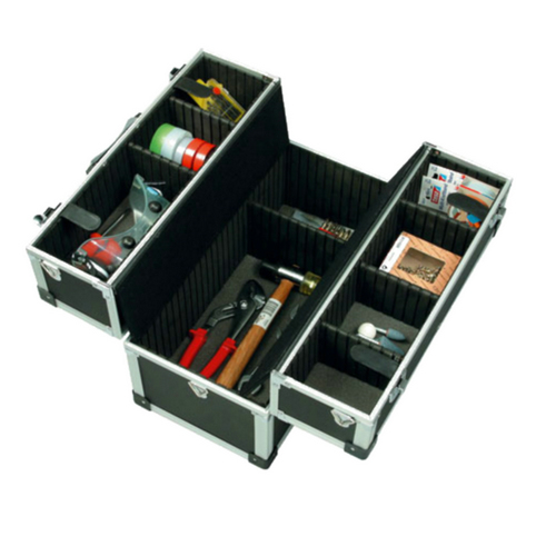 Carrying Tool Case With Tray Ht011