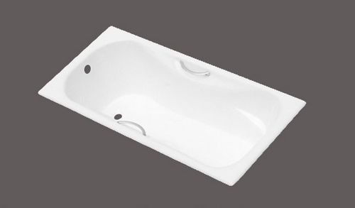 Cast Iron Bathtub With Handrails