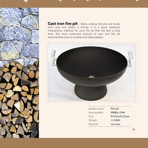 Cast Iron Garden Fire Pit