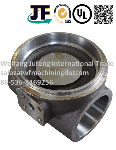 Cast Iron Resin Casting Water Pump Parts With Machining