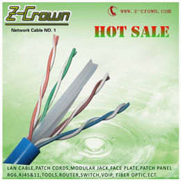 Cat6 Cable 23awg 0 57mm Pvc Jacket Network
