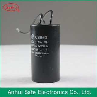 Cbb60 Sh Capacitor In Capacitors With High Voltage