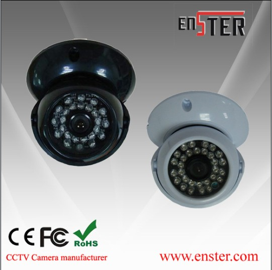 Cctv Plastic Ir Dome Camera