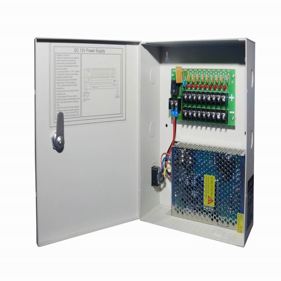 Cctv Power Supply 12vdc 5a 9channels