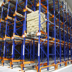 Ce Certificated Radio Shuttle Rackings With Pallet Runner