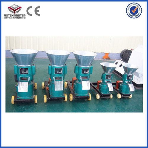 Ce Certification Small New Condition Feed Pellet Mill And Making