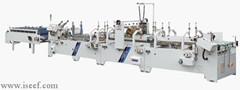 Ce Pre Folded Lock Bottom Automatic Folder Gluer Gdhh 800 1200 1300 Iseef